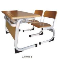 Buy cheap Wooden chairs and tables Student furniture School desk and chair for sale M808H-2 from wholesalers