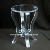 Buy cheap Cosmetic Display Acrylic Chair from wholesalers