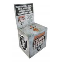 Buy cheap portable corrugated ballot boxes display from wholesalers
