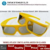 Buy cheap Hotest Circular Polarized Passive 3D Glasses for LG 3D TV Cinema Film from wholesalers