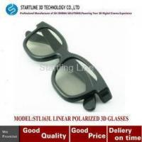 Buy cheap Cheapest classic style Polarized Lens 3D Glasses For linear polarized system from wholesalers