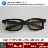 Buy cheap Fresh New Classic Style Circular Polarized 3D eyewear for Cinema, 3D TV from wholesalers