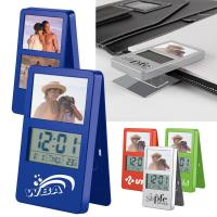 Buy cheap Clip-It LCD Picture Frame Stand-Up Clock from wholesalers