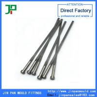 Buy cheap Flat ejector pin, precision mould parts manufacturer from wholesalers