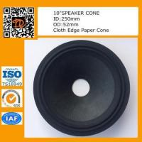 Buy cheap Alibaba Express Hot Cloth Edge 12 Inch Car Speaker Paper Cone from wholesalers