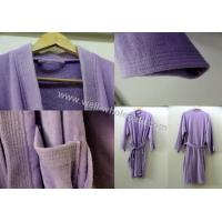 Buy cheap embroidered bathrobes/best bathrobe WW140106003 from wholesalers