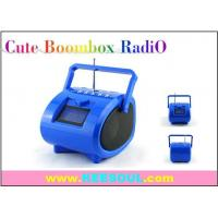 Buy cheap KS-112 China Promotion gifts MINI COMPACT BOOMBOX RADIO USB SD SLOT WITH ALARM CLOCK from wholesalers
