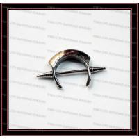 Buy cheap Stainless Steel Eyebrow Ring Bars Body Piercing from wholesalers