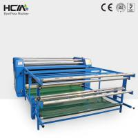 Textile fabric continuous printing roller heat transfer machine