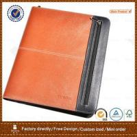 Buy cheap expandable business meeting leather portfolio folder from wholesalers