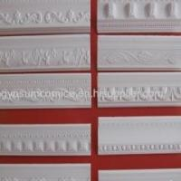 Buy cheap Ceiling Window Wall Frame White Color Gypsum GRG GRC Plaster Moulding Cornice from wholesalers