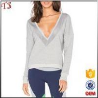 Buy cheap China wholesale hoodies factory lady clothing color custom sweatshirt from wholesalers