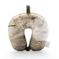 Buy cheap Microbead Neck Pillow with Wood Annual Ring Pattern NP016-1 from wholesalers
