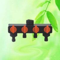 Buy cheap 4-Way Garden Hose Valve Water Distributor HT1230 from wholesalers