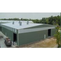 Buy cheap Steel Frame Prefab Warehouse Shed Building from wholesalers