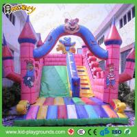 Buy cheap Large Inflatable Climb And Slide from wholesalers
