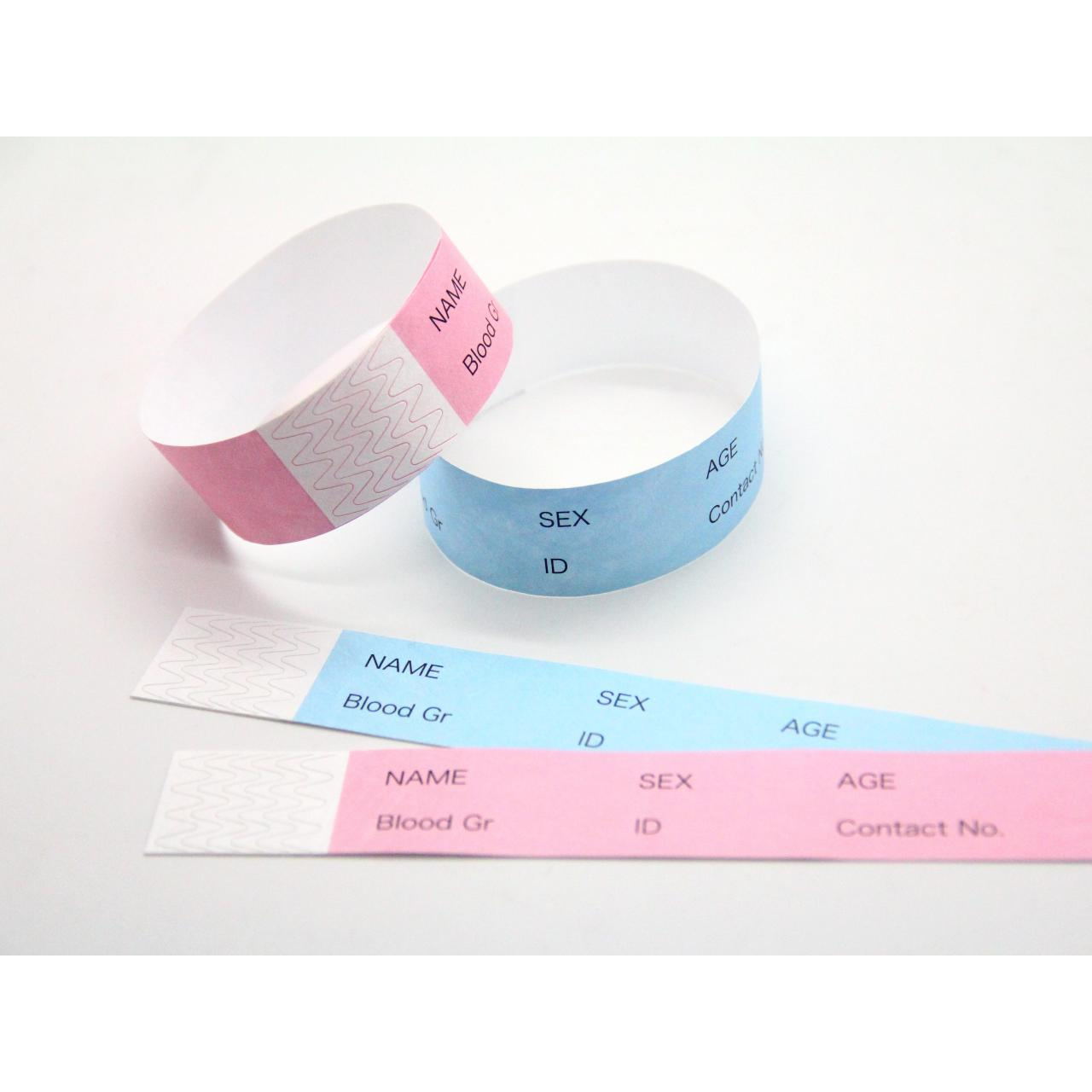 Buy cheap Tyvek wristband patient id wristband(TVK250Y) from wholesalers