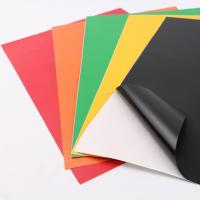 Buy cheap colored PVC self adhesive book cover sheet from wholesalers