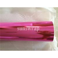 Buy cheap Pink Mirror Chrome Film product