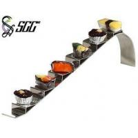 Buy cheap Stair Step Shape Sushi Display Stand , 18/8 Stainless Steel Cake Stand from wholesalers