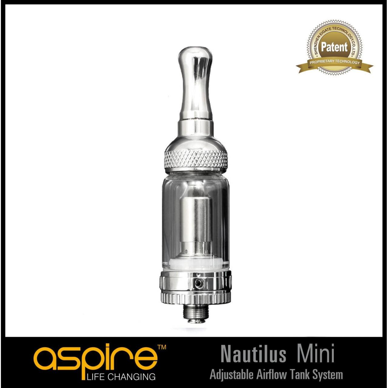 New products Aspire Nautilus mini tank