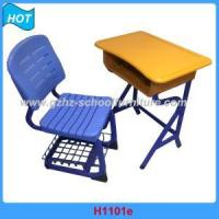Buy cheap Plastic Single School Desk And Chair from wholesalers