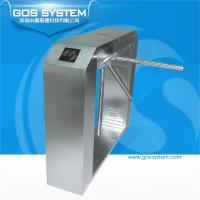 Buy cheap GS21105 GOS SYSTEM finger print gate access control tripod turnstiles product