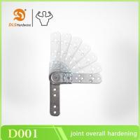 Buy cheap 5 gears multi-angle sofa armrest and headrest hinge D001 from wholesalers