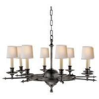 Buy cheap Visual Comfort E. F. Chapman Leaf and Arrow Large Chandelier in Bronze CHC 1447BZ from wholesalers