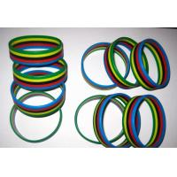Buy cheap wholesale promotional gift layers silicone bands from wholesalers