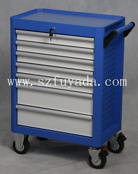 Quality 28 inch wide seven drawer trolley for sale