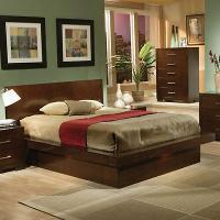 Buy cheap Coaster Platform Bed in Light Cappuccino Finish-King (200711KE) from wholesalers