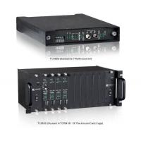 Buy cheap Telephone, Analog & Data Fiber Optic Multiplexer (Hot-Swappable 4-28 ch) product