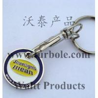 Buy cheap KEYCHAIN KEYRING Shopping Trolley Coin Token KM0826 from wholesalers