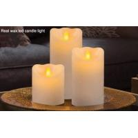 Buy cheap ITEM:12364 real wax led candle light from wholesalers