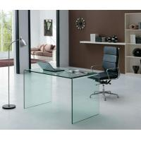 Buy cheap Glass computer desk OT075 Clear from wholesalers