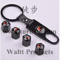 Buy cheap Tire Valve Caps, Set of 4 Car Tire Valve Stem Air Caps Cover + Keychain VC002 from wholesalers