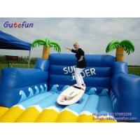 Buy cheap Inflatable zorb ball inflatable surfboard stimulator from wholesalers