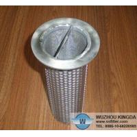 Buy cheap Water strainer Perforated stainless strainer from Wholesalers