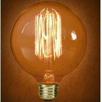 Buy cheap Vintage Bulbs G95 Globe Carbon filament bulb from wholesalers