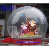 Buy cheap Christmas Decoration Inflatable Snow Globe product
