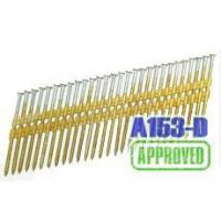 Buy cheap Full Round Head A153-D Hot Dip Collated Strip Nails from wholesalers