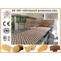 KH CE approved electric biscuit maker/biscuit cake production machine