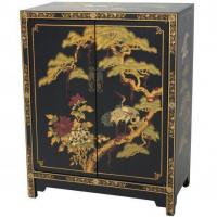 Buy cheap Fine Lacquer Furniture Black Lacquer Cabinet from wholesalers
