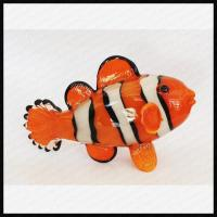 Buy cheap Handmade Glass Clown Fish Ornament from wholesalers