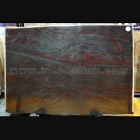 Buy cheap Granite Iron Red slab from wholesalers