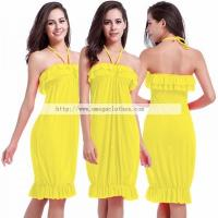Wholesale Custom Woman Beach Wear, Beach Party Wear Dress( VB013)
