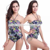 Buy cheap Ladies Tankini 2016 Push up Top High Waist Big XXL Plus Size Swimsuit Sexy Tankini(TD002) from wholesalers