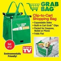 Buy cheap Kitchenware JOYH-1129 Clip to Cart Grab Bags - 2 Pack from wholesalers