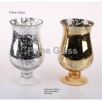 Buy cheap 20157221213Mercury Glass Candle Holder from wholesalers